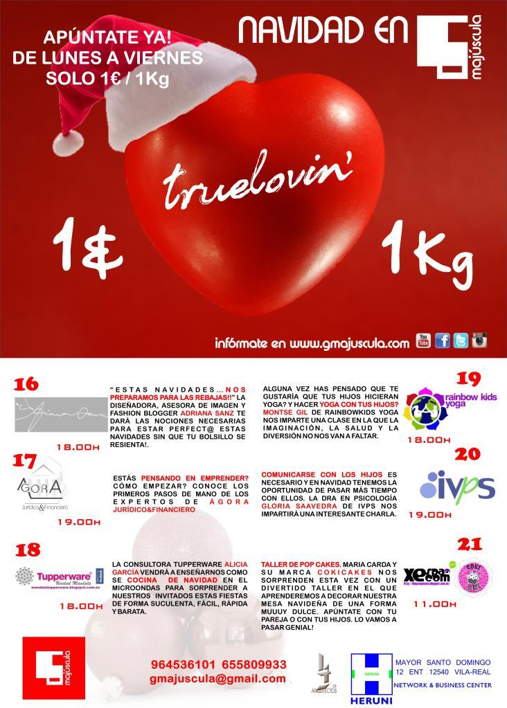 cartel campaña navidad gm